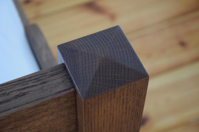 Detail van voetbord.